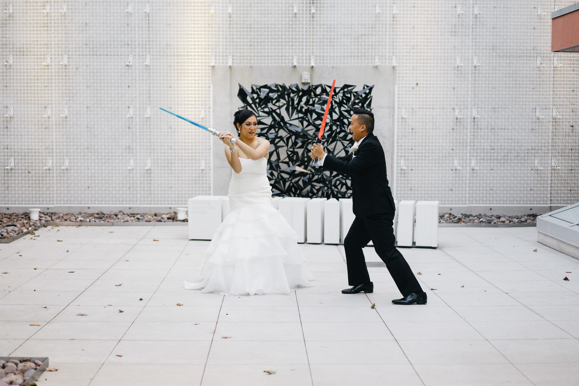 Star Wars Bride and Groom